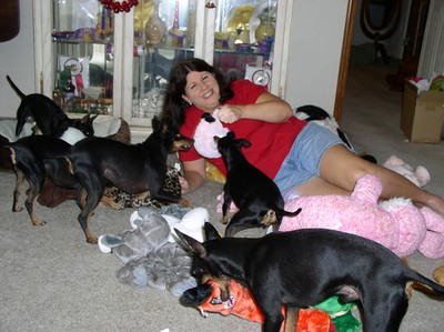 Tammy and Dogs